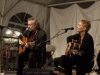 Red Horse: Lucy Kaplansky, John Gorka, Eliza Gilkyson. Falcon Ridge Folk Festival 2011. Friday Night Song Swap.