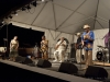 "Luther ""Guitar Junior"" Johnson and The Magic Rockers. Nancy Kaplan on hands Falcon Ridge Folk Festival 2011"