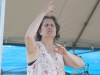 Nancy Kaplan on hands. Falcon Ridge Folk Festival 2011. Worskhop stage: Our Roots are Showing.