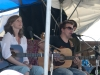Tracy Grammer, Chris O\'Brien. Falcon Ridge Folk Festival 2011. Worskhop stage: Our Roots are Showing.