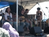 Tracy Grammer, Chris O'Brien. Falcon Ridge Folk Festival 2011. Worskhop stage: Our Roots are Showing.