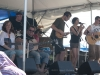 Tracy Grammer, Chris O'Brien, The Folkadelics. Falcon Ridge Folk Festival 2011. Worskhop stage: Our Roots are Showing.