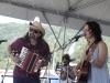 Lucy Kaplansky, with Radoslav Lorkovic. Falcon Ridge Folk Festival 2011