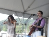 Mary Gauthier with Tania Elizabeth. Falcon Ridge Folk Festival 2011
