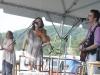Mary Gauthier with Tania Alexander. Nancy Kaplan on hands. Falcon Ridge Folk Festival 2011