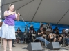 Jennifer Horak on hands. Falcon Ridge Folk Festival 2011. Workshop stage: The Tinker\'s Coin - Remembering Jack Hardy