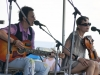 Mary Gauthier with Tania Alexander. Falcon Ridge Folk Festival 2011. Workshop stage: The Tinker\'s Coin - Remembering Jack Hardy