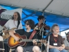 dan Navarro, John Gorka, Falcon Ridge House Band (Mark Dann, Eric Lee, Cheryl Prashker). Falcon Ridge Folk Festival 2011. Workshop stage: The Tinker\'s Coin - Remembering Jack Hardy