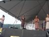 Red Molly. Nancy Kaplan on hands. Falcon Ridge Folk Festival 2011