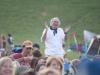 Gordon Nash, lead Red Molly fan. Falcon Ridge Folk Festival 2011