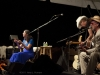 Greg Brown with Bo Ramsey.  Jody Gill on hands. Falcon Ridge Folk Festival 2011