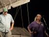 Howard Randall and Anne Saunders, fearless leaders. Falcon Ridge Folk Festival 2011