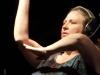 Jennifer Horak on hands with Gandalf Murphy and the Slambovian Circus of Dreams / The Grand Slambovians. Falcon Ridge Folk Festival 2011