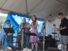 Tracy Grammer with Dave Chalfant, Ben Demerath, Jim Henry. Falcon Ridge Folk Festival 2011