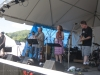 Tracy Grammer with Dave Chalfant, Ben Demerath, Jim Henry. Jody Gill on hands. Falcon Ridge Folk Festival 2011
