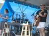 David Buskin with Nancy Kaplan on hands. Falcon Ridge Folk Festival 2011