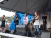 Mary Chapin Carpenter with John Jennings, Tracy Grammer, Don Dixon. Jody Gill on hands. Falcon Ridge Folk Festival 2011