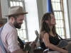 Sunday at the Rockingham Meeting House, Roots on the River 2014. 8 June.