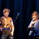 Catie Curtis with Kate MacNally of NHPR's Folk Show