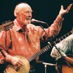 Pete Seeger at Lebanon Opera House, Lebanon, NH. 2008