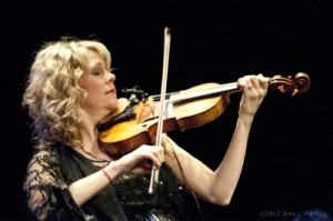 Natalie MacMaster in Bellows Falls, Vermont.